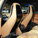 Jaguar C-X17 at 2014 Auto Expo seat backs