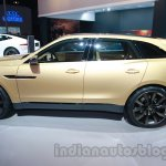 Jaguar C-X17 at 2014 Auto Expo side