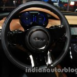 Jaguar C-X17 at 2014 Auto Expo steering 2