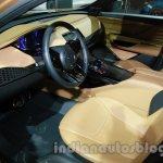 Jaguar C-X17 at 2014 Auto Expo steering