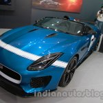 Jaguar F-Type Project 7 at Auto Expo 2014 front quarter