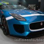 Jaguar F-Type Project 7 at Auto Expo 2014 front quarters