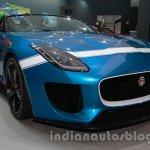 Jaguar F-Type Project 7 at Auto Expo 2014 front quarters