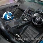 Jaguar F-Type Project 7 at Auto Expo 2014 interiors