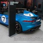 Jaguar F-Type Project 7 at Auto Expo 2014 rear quarter