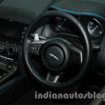 Jaguar F-Type Project 7 at Auto Expo 2014 steering