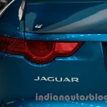 Jaguar F-Type Project 7 at Auto Expo 2014 taillight