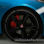 Jaguar F-Type Project 7 at Auto Expo 2014 wheel livery