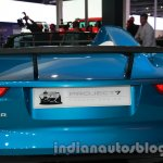 Jaguar F-Type Project 7 at Auto Expo 2014 wing