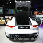 Jaguar F-Type R Coupe at Auto Expo 2014 bootlid