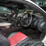 Jaguar F-Type R Coupe at Auto Expo 2014 cabin