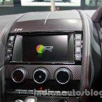 Jaguar F-Type R Coupe at Auto Expo 2014 center console