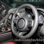 Jaguar F-Type R Coupe at Auto Expo 2014 dashboard