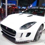 Jaguar F-Type R Coupe at Auto Expo 2014 front quarter 2