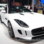 Jaguar F-Type R Coupe at Auto Expo 2014 front quarter