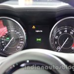 Jaguar F-Type R Coupe at Auto Expo 2014 instrument cluster