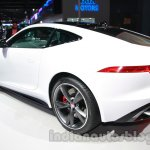 Jaguar F-Type R Coupe at Auto Expo 2014 rear quarter 2