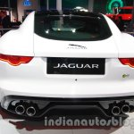 Jaguar F-Type R Coupe at Auto Expo 2014 rear