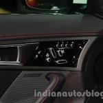 Jaguar F-Type R Coupe at Auto Expo 2014 seat adjuster
