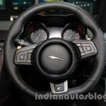 Jaguar F-Type R Coupe at Auto Expo 2014 steering