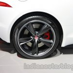 Jaguar F-Type R Coupe at Auto Expo 2014 wheel