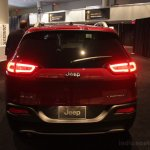 Jeep Cherokee rear from New York Auto Show 2013 debut