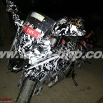 KTM RC390 caught on test India front
