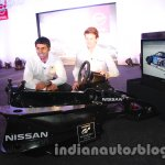 Karun Chandhok and Lucas Ordonez launch the Nissan GT Academy in India