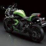 Kawasaki Ninja 250 RR Mono front three quarter press shot