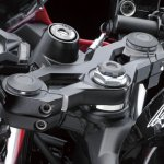 Kawasaki Ninja 250 RR Mono ignition detail press shot