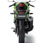 Kawasaki Ninja 250 RR Mono rear profile press shot