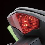 Kawasaki Ninja 250 RR Mono taillight press shot