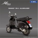 LML Star Euro 150cc press shot rear three quarters