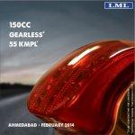 LML Star Euro 150cc press shot taillight