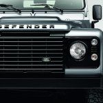 Land Rover Defender Black Pack front facia