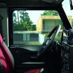 Land Rover Defender Black Pack interior