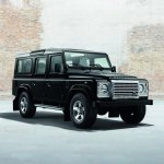 Land Rover Defender Silver Pack front quarter