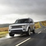 Land Rover Discovery XXV Special Edition front in motion