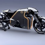 Lotus Motorcyles C-01 carbon right side
