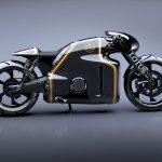 Lotus Motorcyles C-01 carbon side