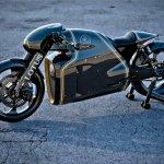 Lotus Motorcyles C-01 carbon top front outdoor