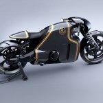 Lotus Motorcyles C-01 carbon top rear
