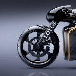 Lotus Motorcyles C-01 carbon wheel left