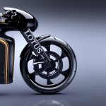 Lotus Motorcyles C-01 carbon wheel right