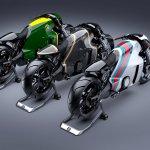 Lotus Motorcyles C-01 studio