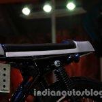 Mahindra Cafe Racer Auto Expo 2014 seat