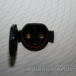 Mahindra Maxximo electric Auto Expo socket