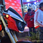 Mahindra Mojo headlamp detail live