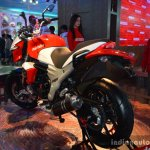 Mahindra Mojo rear three quarter live