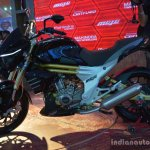 Mahindra Mojo side black live